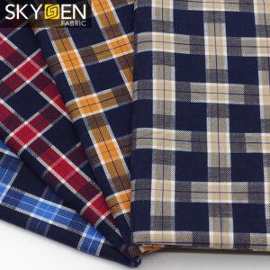 Tartan Plaid Fabric Cotton