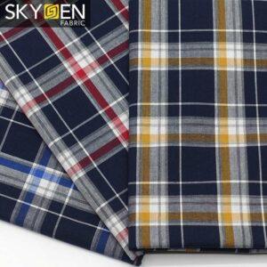 Cotton Tartan Fabric Wholesale