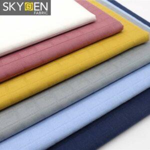 stretch dobby fabric