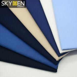 white cotton dobby fabric