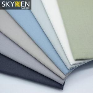 slub cotton oxford fabric