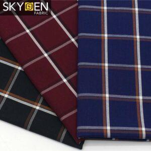 oxford cotton check fabric