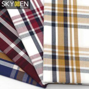 SDP05 Peached Cotton Tartan Check Fabric