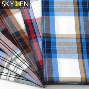 Tartan Effect Fabric