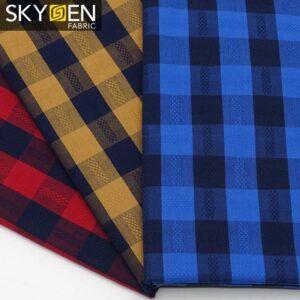 SDP07 Cotton Buffalo Check Gingham Fabric