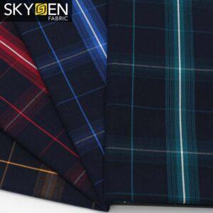 SDP09 Cotton Tartan Plaid Check Fabric