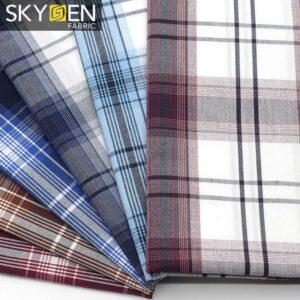 SDP12 Tartan Cotton Dress Fabric
