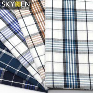 SDP13 Tartan Plaid Fabric Cotton