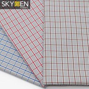 SDP14 Fine Cotton Check Fabric