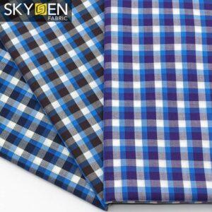 SDP15 Herringbone Soft Cotton Check Fabric