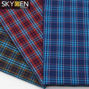 SDP16 Tartan Cotton Twill Fabric