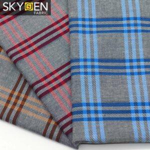 SDP18 Windowpane Check Cotton Fabric