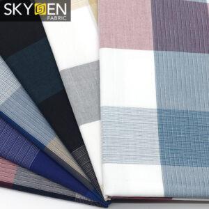 Colorful Tartan Fabric