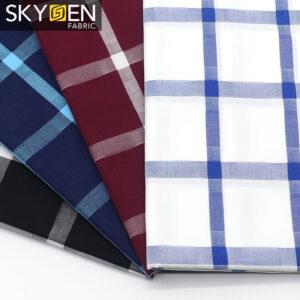 check shirt fabric
